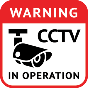 CCTV Installed Warning - Sunshine Coast